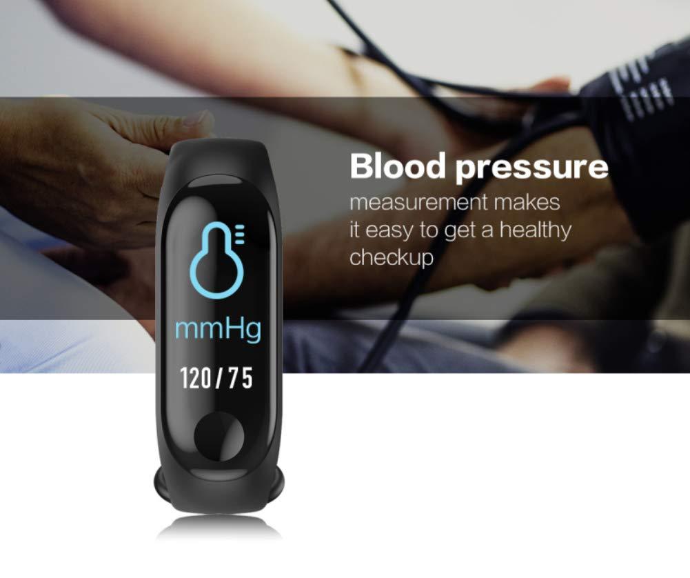 aaerp Relojes Deportivos, Monitor de Actividad Deportiva, Ritmo Cardíaco, Impermeable IP67, Reloj Fitness, smartwatch con Podómetro Mujer Hombre 6