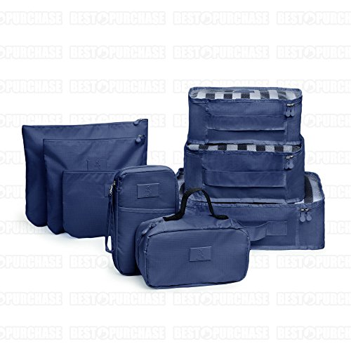 organizador maleta , Kofferorganizer blau blau