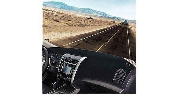 Original Dashboard Carpet 13-18 Black YRCP Premium Dash Covers Easy Installation Custom Fit for Nissan Altima 2013-18