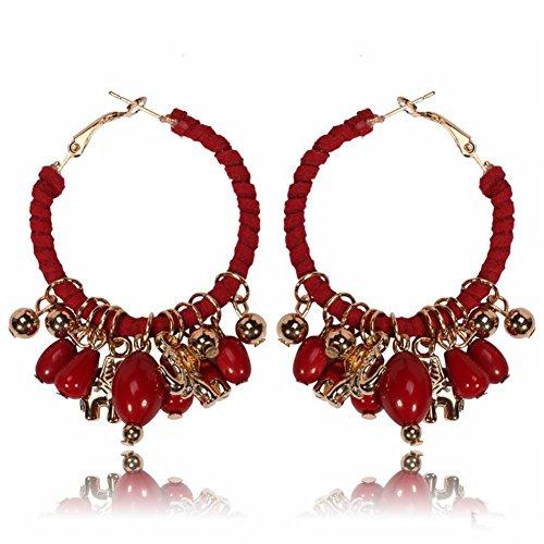 WANGLETA Pendientes Pendientes de gota Idea de regalo para mujer orejas europeas...