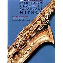 Bebop and Swing Classics: Everybody's Favorite Saxophone Method