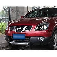 GOWE - Faros Delanteros LED para Nissan Qashqai 2009 – 2014 nuevos Faros Delanteros Qashqai DRL