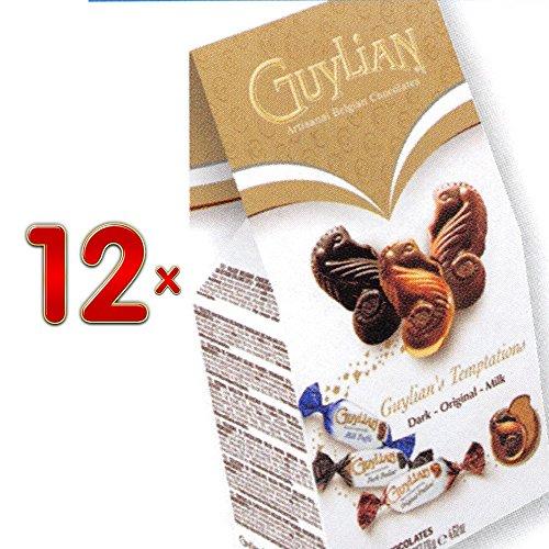 guylian-temptations-mix-impulse-pack-12-x-131g-packung-belgische-schokolade-mit-nuss-nougat-creme