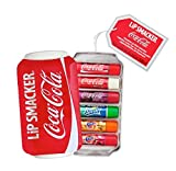 Lip Smacker, Coca-Cola, Set di lucidalabbra in confezione regalo (Coca-Cola Classic, Coca-Cola Vanilla, Sprite, Fanta Orange, Fanta Strawberry, Fanta Pineapple), 6 pz.