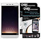 Roxel Brand Pack Of 2 9H Hardness Toughened 2.5D Tempered Glass Screen Protector For LeEco Le2 X526