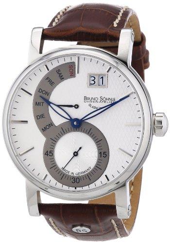 Bruno Söhnle Herren-Armbanduhr Pesaro II Analog Quarz Leder 17-13073-283