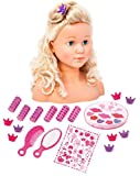 Bayer Super Model Styling Head with Make-Up and Hair Accessories