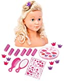 Bayer Design - Busto de muñeca con maquillaje y accesorios (90005C)
