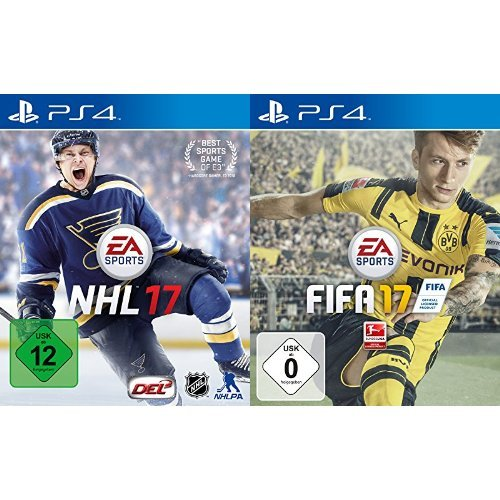 NHL 17 - [PlayStation 4] & FIFA 17 - [PlayStation 4]