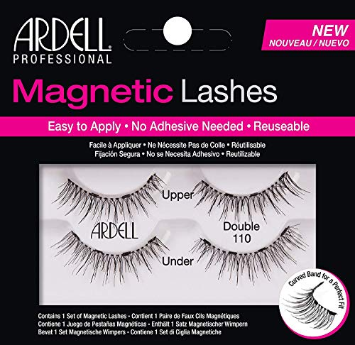 fa5e253afdc Ardell Professional Magnetic Double Strip Lashes, 110 Black