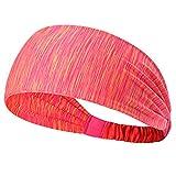 Fletion Sport Haar Stirnband für Frauen Männer Yoga Stirnband Elastisch
