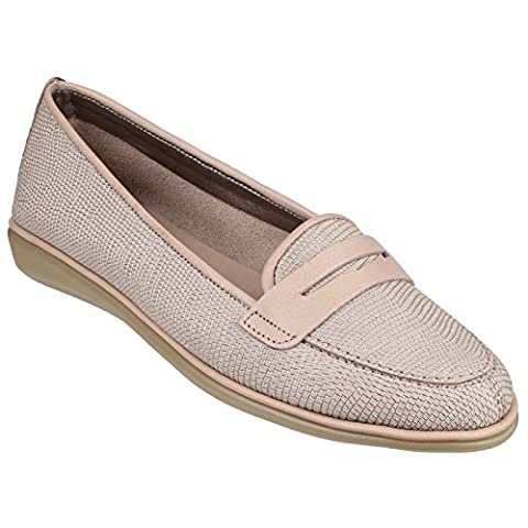The Flexx Damen Loafers mit Reptilien-Design (37 EU)