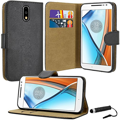 motorola-moto-g4-case-premium-quality-leather-wallet-case-cover-comes-with-moto-g4-screen-protector-