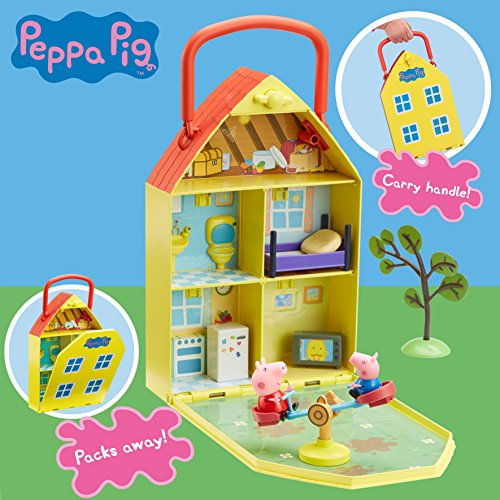 "Image of Peppa Pig 06156 ""Peppa's House & Garden"" Playset"