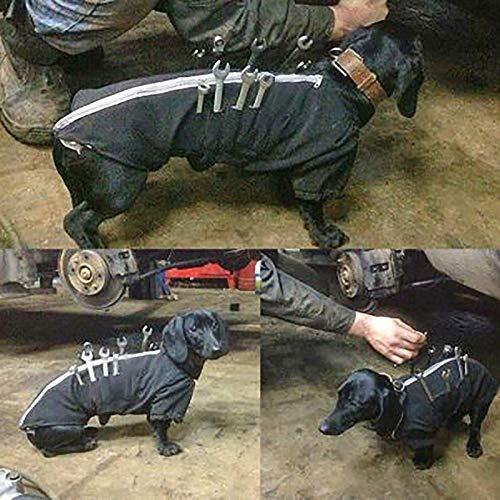 niker Assistent Dog Working Overalls mit Multi Taschen für Working Dog ()