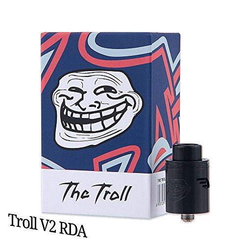Wotofo The Troll V2 RDA Tröpfler Farbe Schwarz