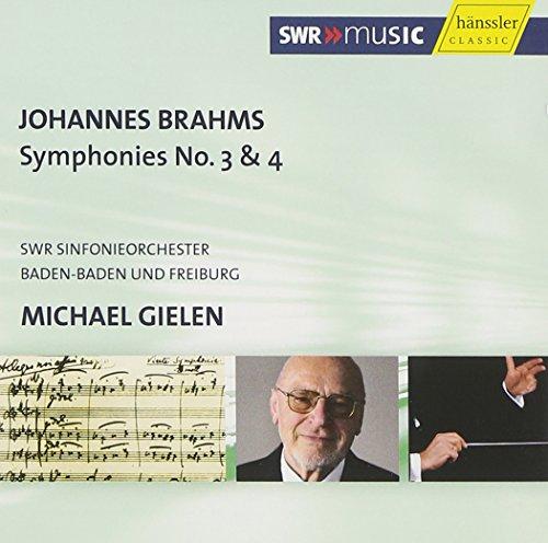 BRAHMS - Symphonies n°3 et 4
