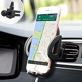 iAmotus Universal KFZ Handy Halterung 360° Drehbare Lüftung Auto Handyhalterung für iPhoneX/8/7/7Plus/6s, Samsung GalaxysS8+/S8/S7, Huawei, Xiaomi, Sony, Nokia und andere Smartphones