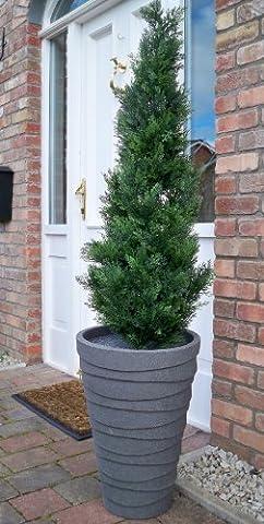 120cm 4ft Beste Künstliche Cedar Pine Cypress Konifere Tree (Cedar Schritt)