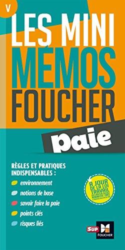 Les mini memos Foucher - Paie