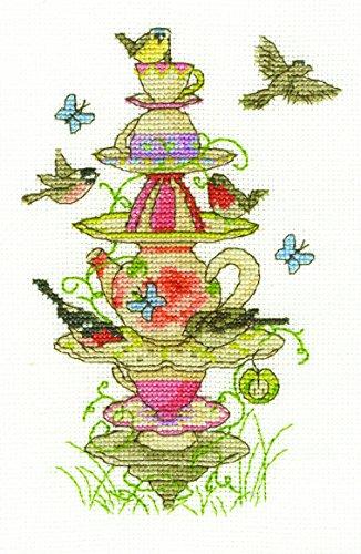 DMC Tee Garten Set, 100% Baumwolle, Mehrfarbig Garten Tee-set