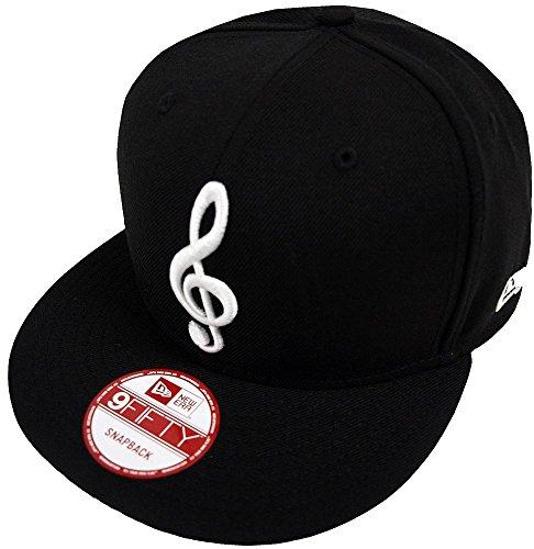 New Era Herren Snapback Caps Music Note 9Fifty schwarz Adjustable e8d0944e7e4
