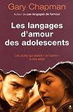 les langages d amour des adolescents
