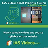 #4: IAS Videos 64GB pendrive course for IAS UPSC civil services exam