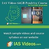 #6: IAS Videos 64GB pendrive course for IAS UPSC civil services exam