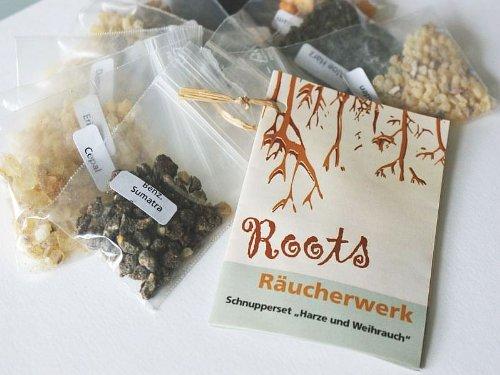 Räucherwerk, Schnupper-Set Weihrauch und Harze, 10tlg. (Weihrauch Weihrauch-harz)