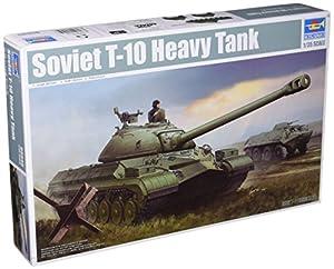 Trumpeter 1/35 soviético T-10 Tanque Pesado # 05545 - Kit Modelo plástico