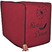 Abdeckhaube, Philips Pasta Maker, Mod. Pasta Deluxe, Schutzhaube, Dunkelrot mit schwarz
