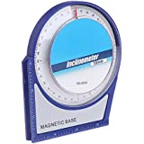 Hanumex® 100 mm Inclinometer Protractor Tilt Level Meter Angle Finder Clinometer with Magnetic Base