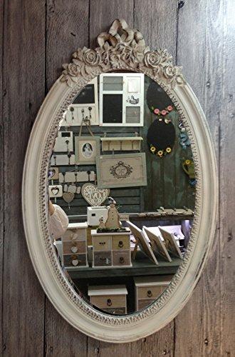 charma nter rústico madera espejo de pared 18–3Espejo Antiguo
