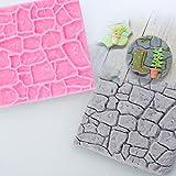 Antik Castle Farm Wand Rock Stein Garten 3D Silikon Form Schokolade Fondant Kuchen Brot Dekorieren DIY Backen Cookies Form