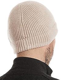 new products bd28e d366b Amazon.it: cappello cashmere - Beige / Uomo: Abbigliamento