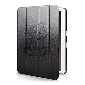 Inateck Samsung Galaxy 4 10.1 / Tab 4 Nook 10.1 Case con funzione magnetica sveglia Auto Sleep, Nero