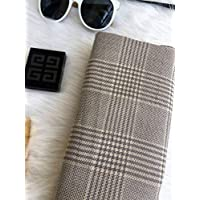 WENNUAN Scarf Scarf Female Lap Air Shawl Thickening Dual-Use Office Student Autumn Winter Cotton Linen,D