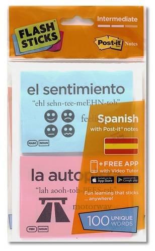 Flashsticks Spanish Intermediate Starter Pack