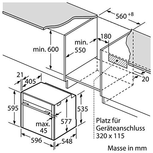 Neff BFT 4664 N Backofen Elektro / 71 L / Dampfbackofen mit 13 Beheizungsarten / edelstahl - 11