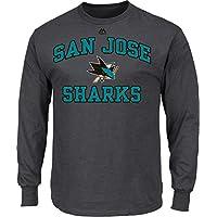 NHL Shirt San Jose Sharks Heart and Soul Langarm Longsleeve