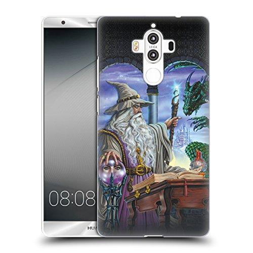 Offizielle Ed Beard Jr Botschafter Drachen Von Dem Zauberer Fantasie Ruckseite Hülle für Huawei Mate 9