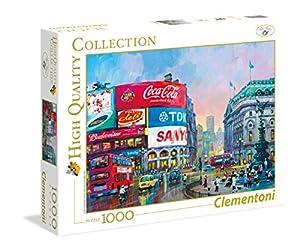 Clementoni 39316 Puzzle Puzzle - Rompecabezas (Puzzle Rompecabezas, Ciudad, Niños y Adultos, London - Piccadilly Circus, Niño/niña, 14 año(s))