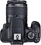 Canon EOS 1300D Digitale Spiegelreflexkamera (18 Megapixel, APS-C CMOS-Sensor, WLAN mit NFC, Full-HD) Kit inkl. EF-S 18-55mm III Objektiv schwarz für Canon EOS 1300D Digitale Spiegelreflexkamera (18 Megapixel, APS-C CMOS-Sensor, WLAN mit NFC, Full-HD) Kit inkl. EF-S 18-55mm III Objektiv schwarz