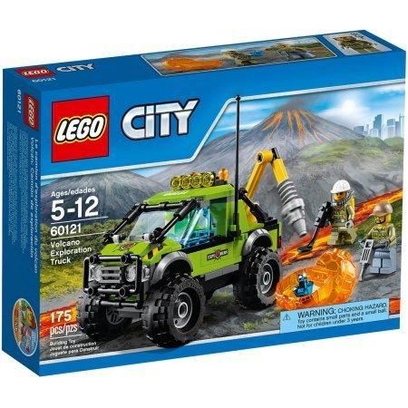 175 Pieces LEGO City Volcano Explorers Volcano Exploration Truck Building Set Model#60121 by LEGO