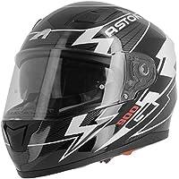 ASTONE casco integral GT900 Arrow negro blanco talla negro rosa, ...