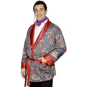 Veste de playboy Casanova déguisement peignoir veste d'intérieur peignoir homme peignoir