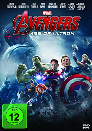 Avengers: Age of Ultron (Scarlett-der Film Dvd)