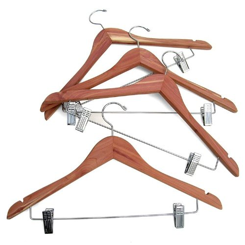 CedarFresh Cedar Aufhänger Hänge-Clips braun