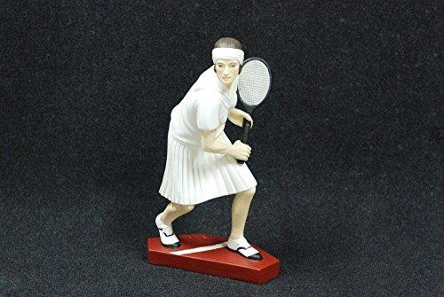 Tennis Buste Figurine peint peint ? la main